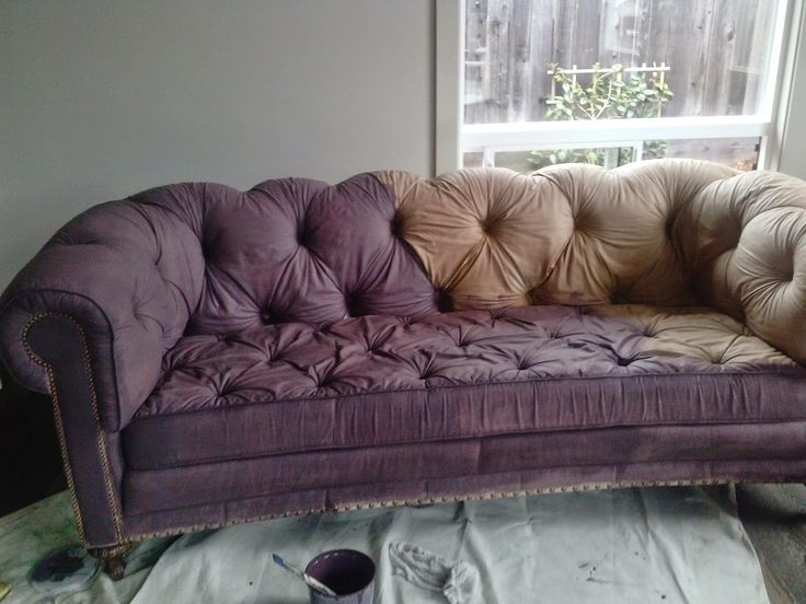 Reloved Rubbish: The Painted Sofa