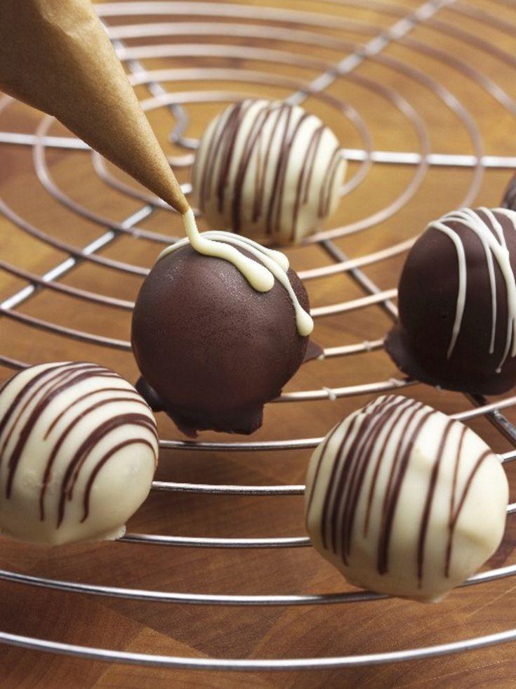 Ricetta Cioccolatini ripieni   Agrodolce