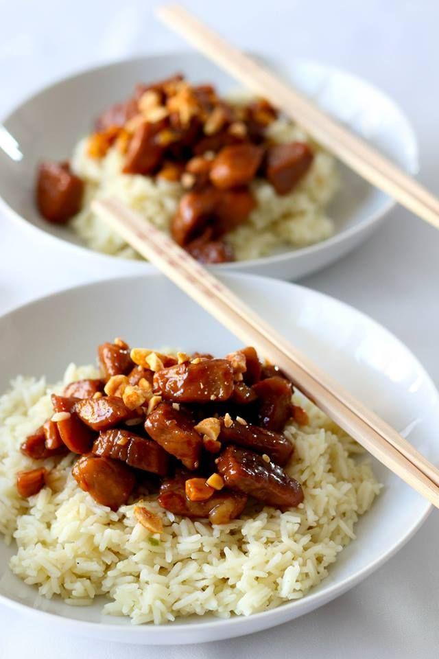 une des meilleures recettes de porc au caramel, par contre, utilisez de l'échine, plus gouteuse que le filet de porc. MartineL