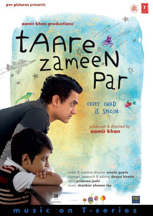 Like Stars on Earth (2007) | Taare Zameen Par (2007): An eight year old boy is thought to be lazy and a troublemaker, until the new art teacher has the patience and compassion to discover the real problem behind his struggles in school #movie