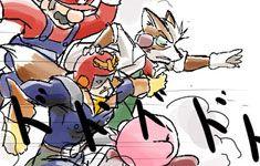 Super Smash Bros. Brawl – Yonkoma