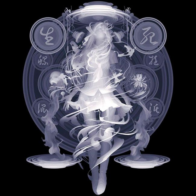 'Spiral' by Kazuki Takamatsu. Find out more about Kazuki and see more of his awesome art at wowxwow.com (painting, narrative, manga, pop culture, japan, japanese, symbolism, monochrome)