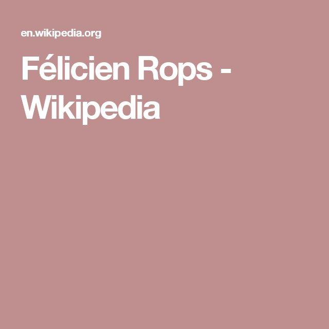 Félicien Rops - Wikipedia
