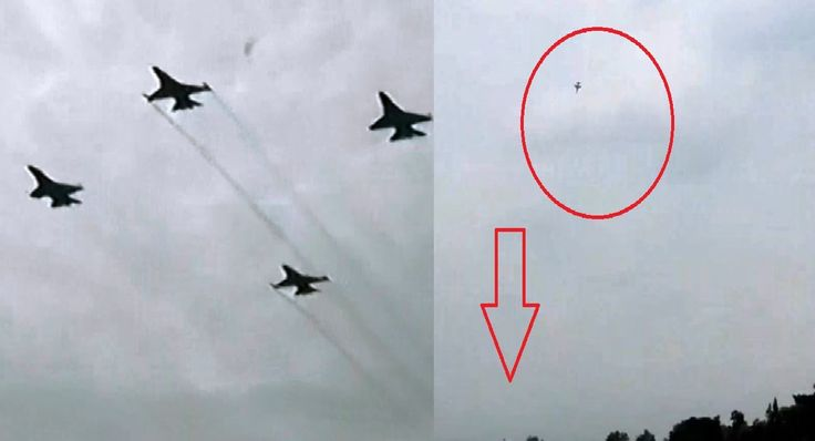 NGERI !!! Video Amatir Detik Detik Jatuhnya Pesawat TNI AU T50i Di Air S...