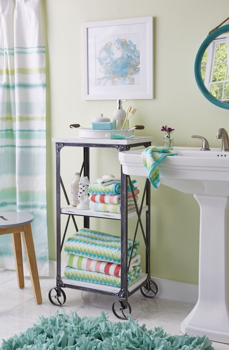 Best 25 Bathroom Cart Ideas On Pinterest  Bathroom Table Pleasing Small Bathroom Cart Decorating Inspiration