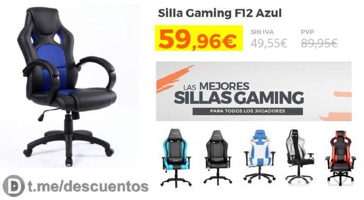 Promoción de Sillas gamer en PcComponentes - http://ift.tt/2uyt1t3