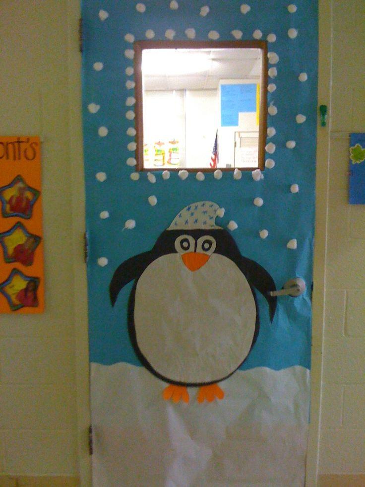 winter classroom door decoration ideas - Google Search