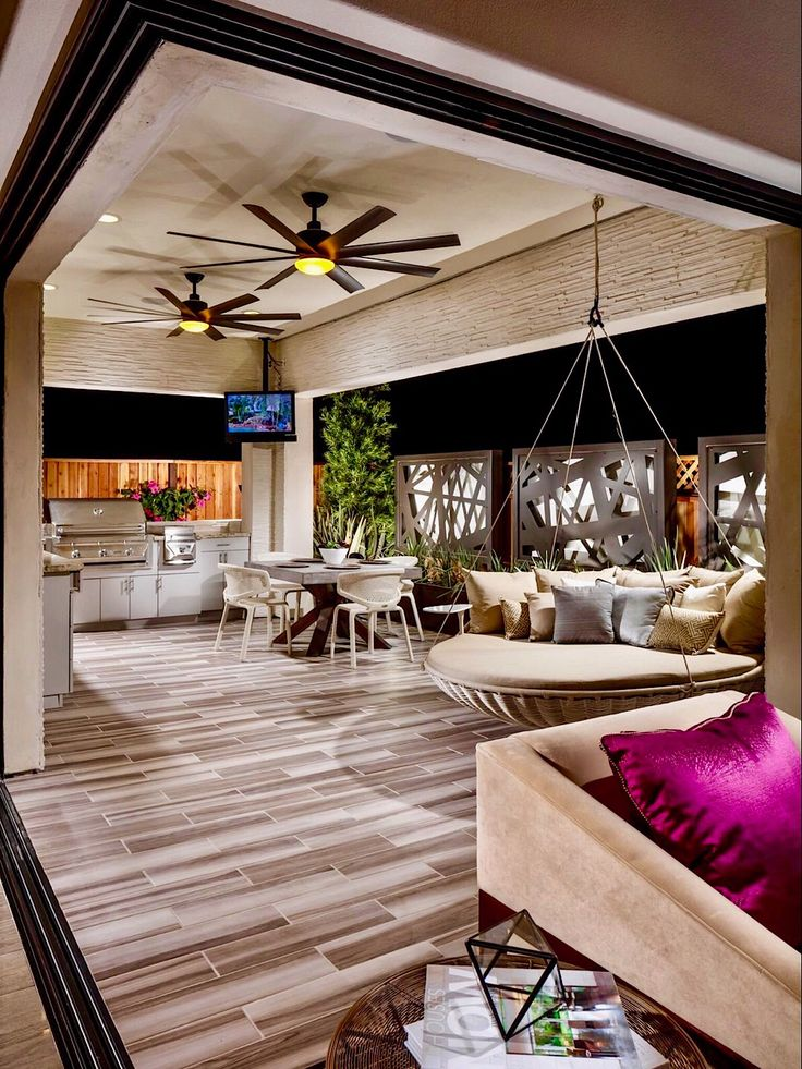 Stunning Outdoor Living Spaces @ Toll Brothers