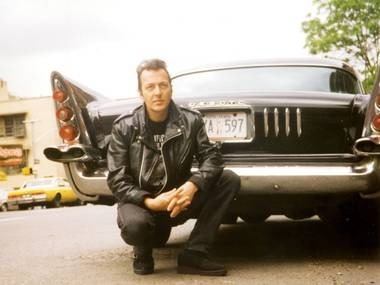 Previously unseen photo of Strummer with a classic car, New York, late 1990s: Dreamindenim Joe, Joe Strummer, Classic Cars, Angry Young, Hit Discothèqu, Music Maker, Giant Hit, Young Man, Discothèqu Album