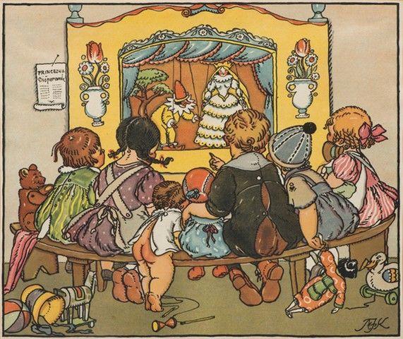 Fischerová-Kvěchová Marie (1892-1984) | Loutkové divadlo