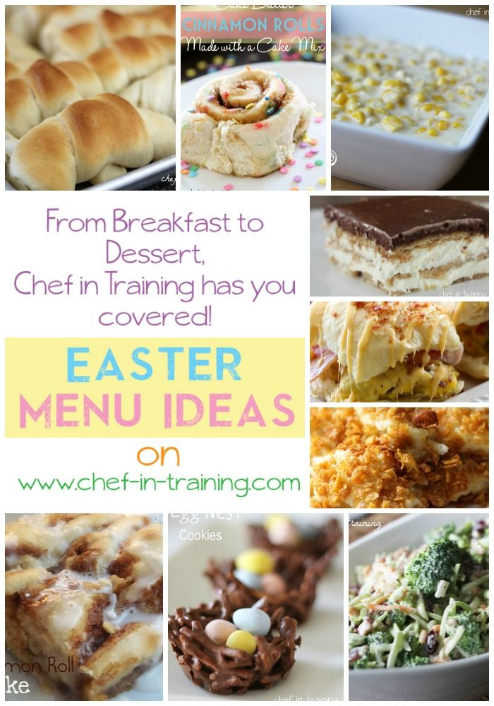 Easter meal ideas!