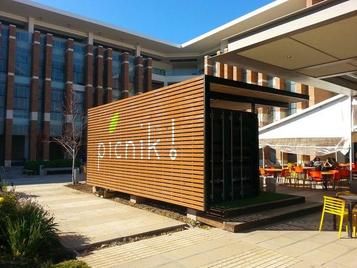M s de 25 ideas incre bles sobre restaurante contenedor en for Arquitectura contenedores maritimos