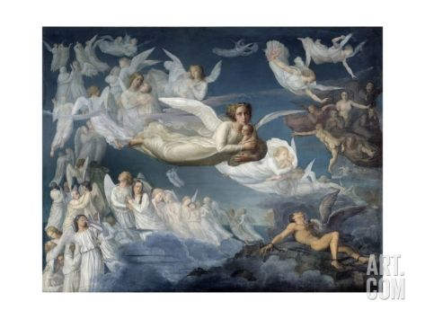 The Passage of the Souls by Louis Janmot Giclee Print at Art.com