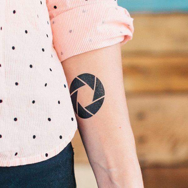80 Camera Tattoo Designs For Men: 25+ Best Ideas About Aperture Tattoo On Pinterest