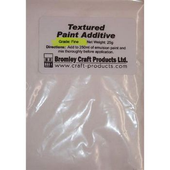 TEX - Textured Paint Additive 25g Bagfrom Bromley Craft Products Ltd. - EXTRA FINE