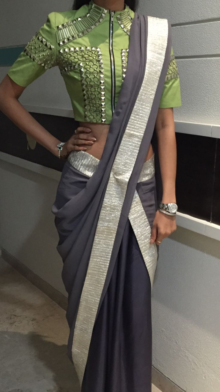 punk saree