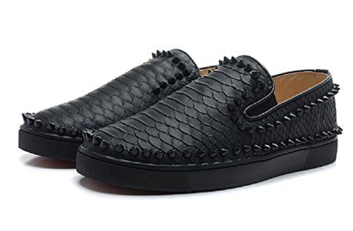 Pik Boat Black Studded Snake Men Flats (7 US / 40 EUR) KO... https://www.amazon.com/dp/B06Y11328Q/ref=cm_sw_r_pi_dp_x_fBggzb5JMSY0Z