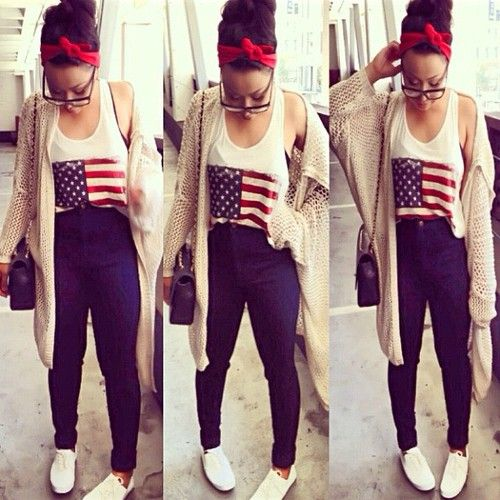 Great Fourth of July outfit