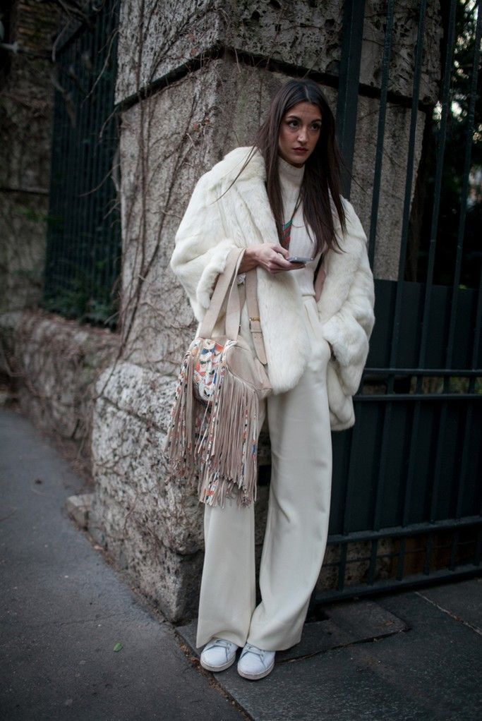 nice They Are Wearing: Milan Fashion Week Fall 2015 - Slideshow by http://www.redfashiontrends.us/milan-fashion-weeks/they-are-wearing-milan-fashion-week-fall-2015-slideshow-2/