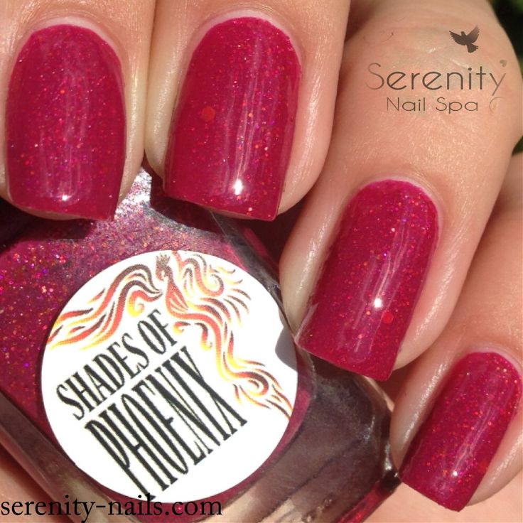 Shades of Phoenix- Fatale Fenix (exclusive for Femme Fatale Cosmetics)