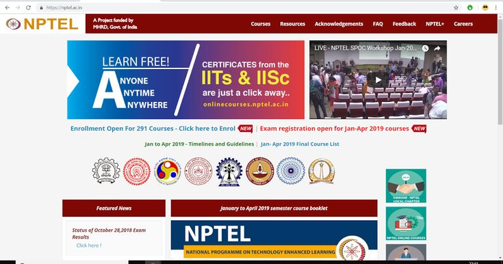 Nptel National Program On Technology Enhanced Learning This Article Is Written Specially Classroom Education Massive Open Online Courses First Year Student
