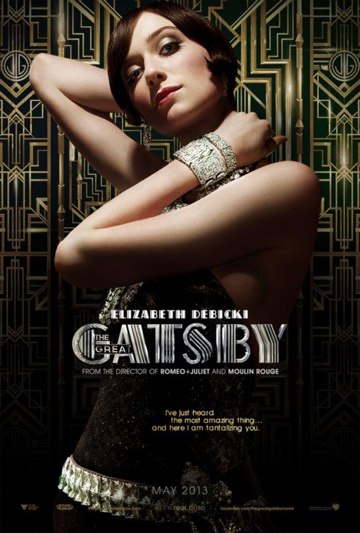 Gorgeous new Great Gatsby poster ft. Elizabeth Debicki