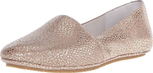 Kenneth Cole New York Womens Jayden Rose Gold Flat 85 M *** Details can be found by clicking on the image.