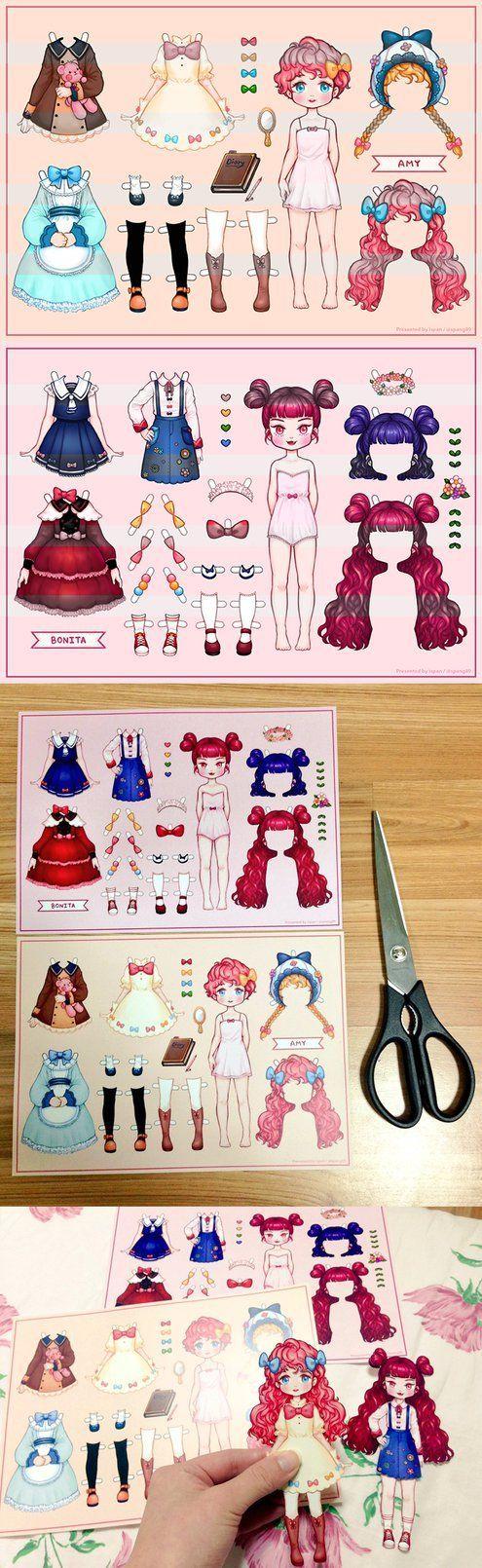 My paper dolls by ispan0w0.deviantart.com on @DeviantArt