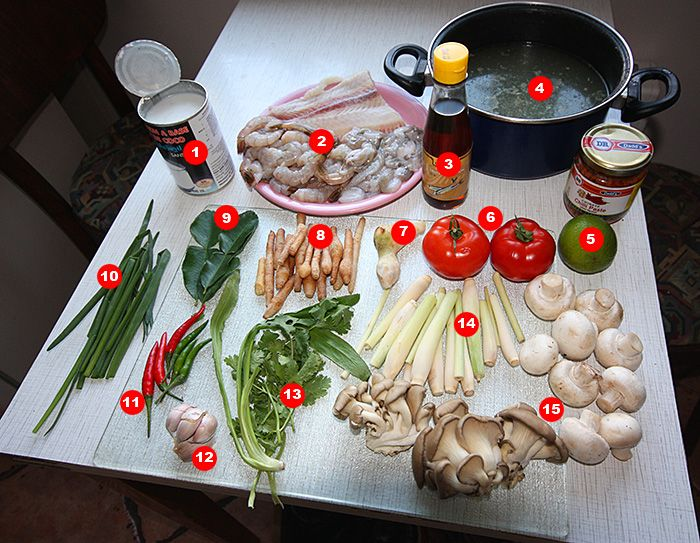 Готовим адский тайский суп Том Ям Кунг :: Форум умных людей