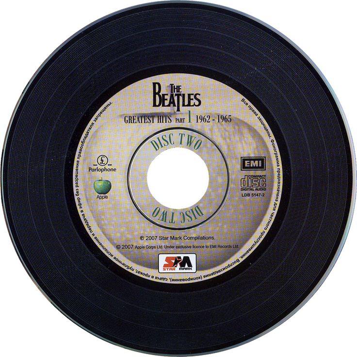 Carátula Cd1 de The Beatles - Greatest Hits Part 1: 1962-1965