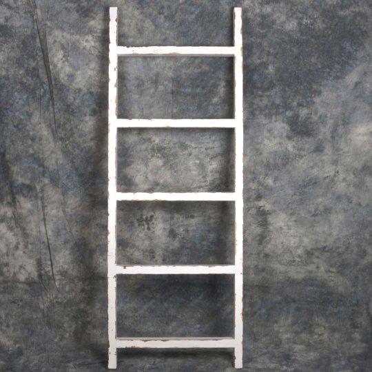 Decorative Ladder in White - Madison
