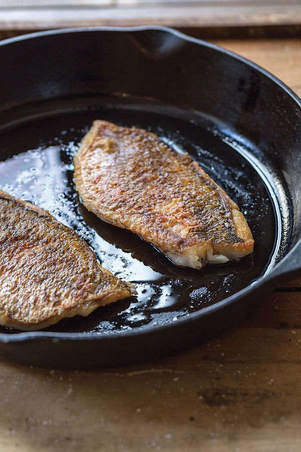 One of the simplest and most rewarding ways to prepare fish is to pan-fry a skin-on fillet. The method yields browned, crispy skin on the outside and flaky, moist meat inside, all in a matter of minutes. That is, if you do it properly. Here are a few ways to help make sure you do.