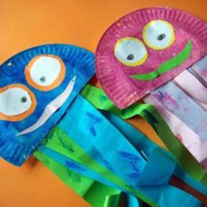 Love This Idea For A Jellyfish Craft Made From Paper Plates