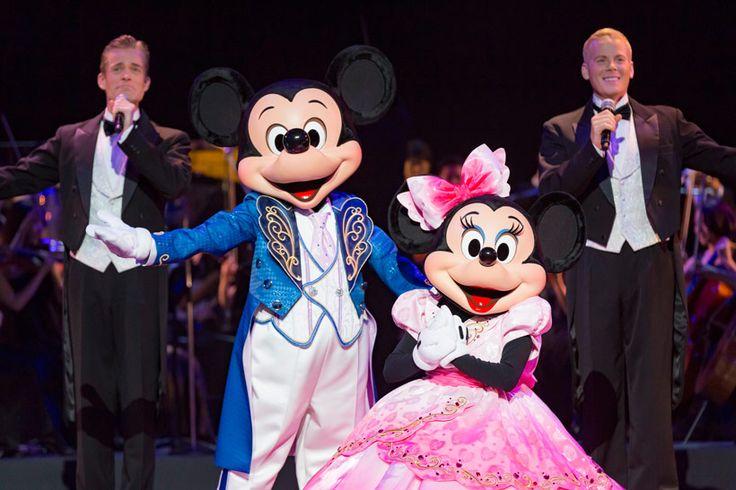 東京ディズニーリゾート,東京ディズニーシー,ブロードウェイミュージックシアター,アメリカンウォーターフロント,スぺシャルショー,バレンタインナイト2016コンサートオブラブ,ミッキー,ミニー