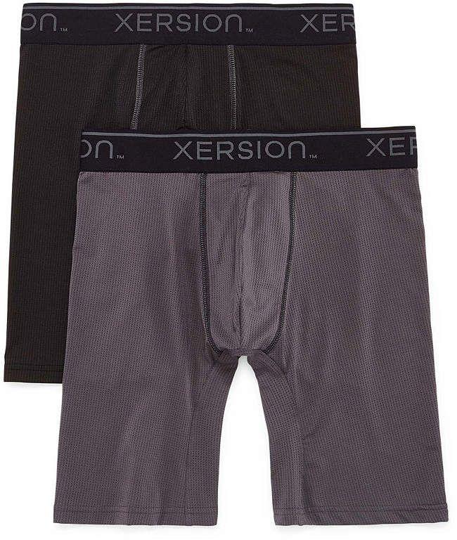 58764c53e27aab Xersion 2-pk. Ice Long Leg Boxer Briefs - Big & Tall | Mens Big And ...