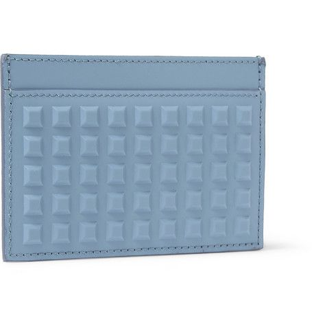 Balenciaga Studded Leather Cardholder | MR PORTER