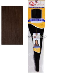 "Milky Way Que Invisible Part Weaving Closure 10"" - Color 4 - Blend Closure - Invisible Part"