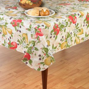 Everyday Fruits Tablecloth