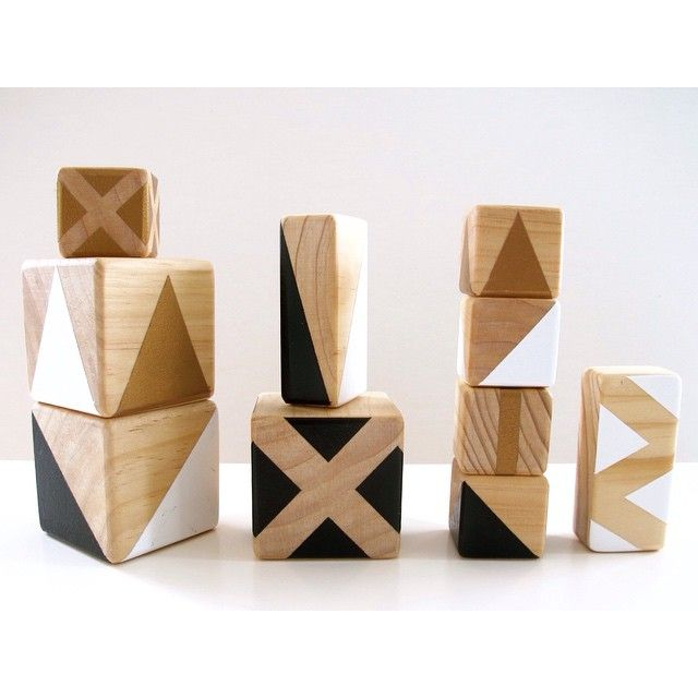 These Gold Rabbit & Co blocks are ideal for styling a nursery and for play- have a look at Quinn and Ben's cute boy Cooper with his set @quinnandben #cute #baby #ministyle #onlineshop