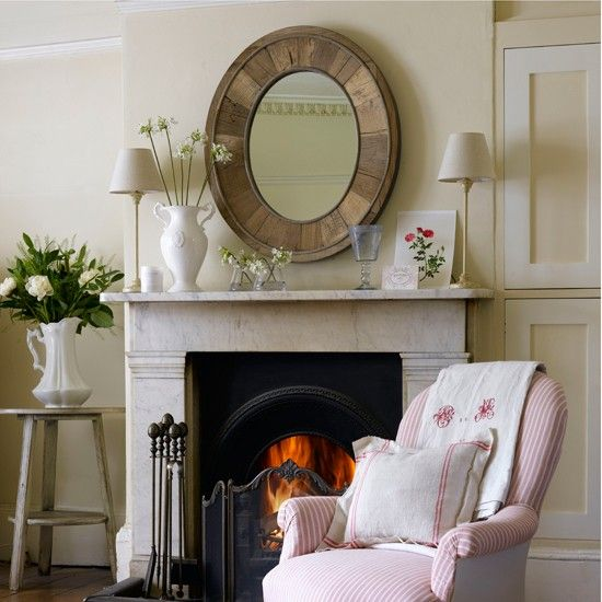 Round Mirror Over Fireplace Cosy Fireplace Ideas | Home Sweet Home | Pinterest | Cosy