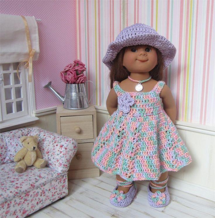 78- FICHE PATRON Tenue Guimauve au crochet pour poupée Wichtel : Jeux, jouets par atelier-crochet