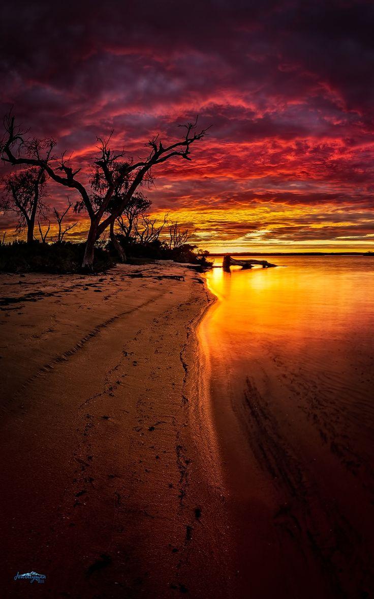 ~~Stormy Sunrise | Sunrise over Peel Inlet, Mandurah, Western Australia | by Les Imgrund~~