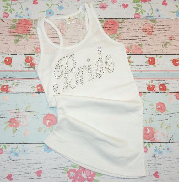 Bride Shirt Tank 1 Bridesmaids. Maid of Honor. by BridesDelight