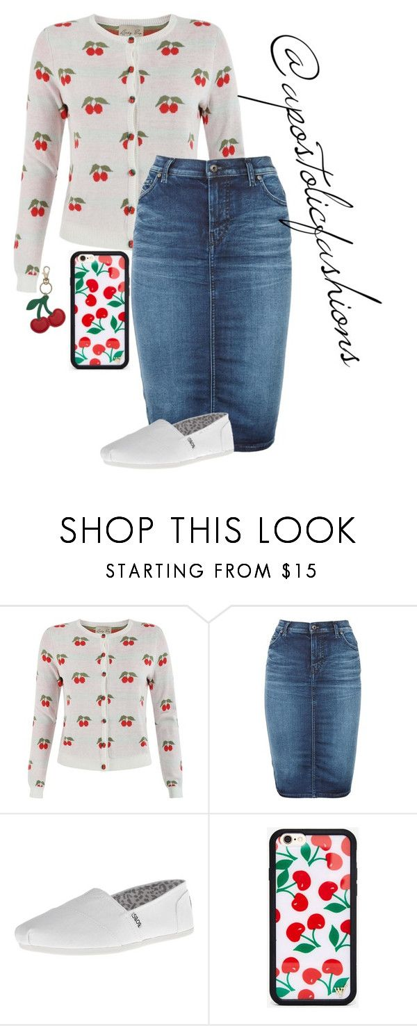 """""""Apostolic Fashions #1319"""" by apostolicfashions ❤ liked on Polyvore featuring Diesel, modestlykay and modestlywhit"""