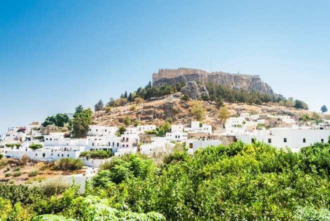 To ugers charter på Rhodos kun kr. 2.498 Inklusiv fly og hotel i Rhodos by