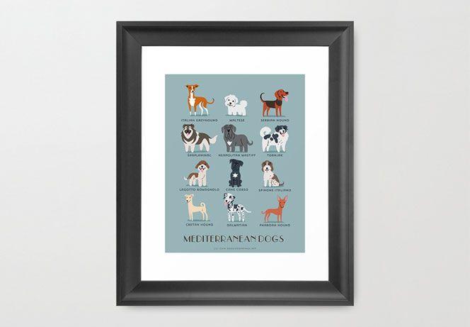 Poster, trapunte, tappeti etc. per gli amanti dei cani