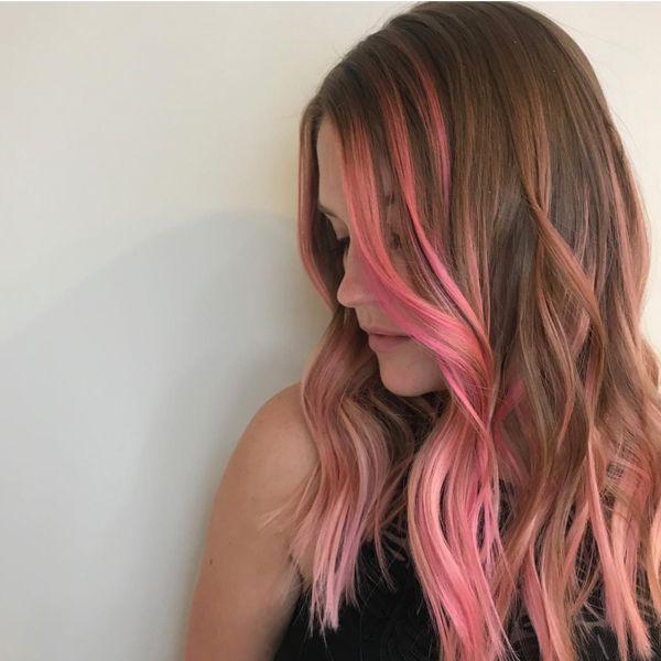 Face Contouring Money Pieces Behindthechair Com Hair Color Streaks Hair Contouring Pink Hair Streaks