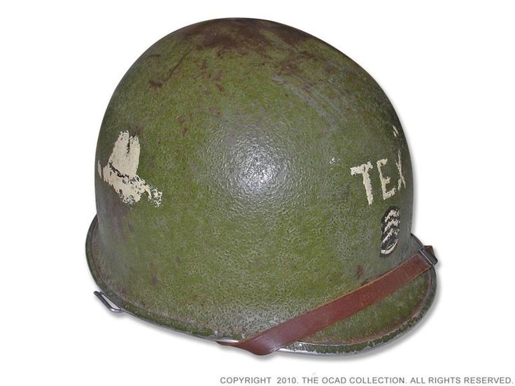 The M1 Helmet of World War Two - A Basic Overview. - http://www.warhistoryonline.com/war-articles/m1-helmet-world-war-two-basic-overview.html