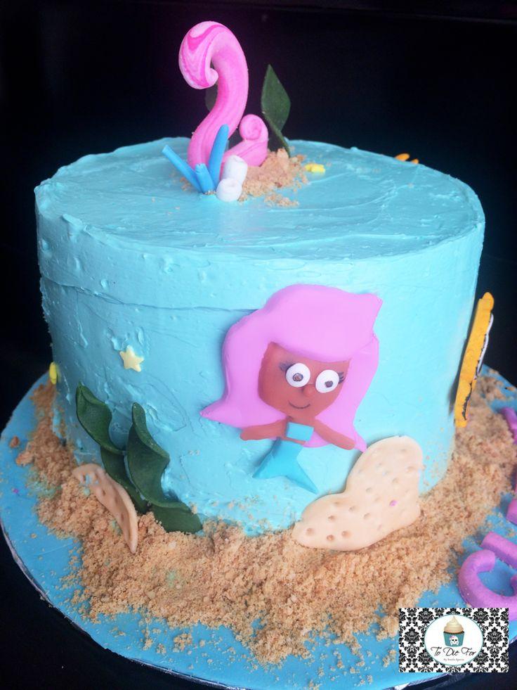 Bubble Guppies cake!!!
