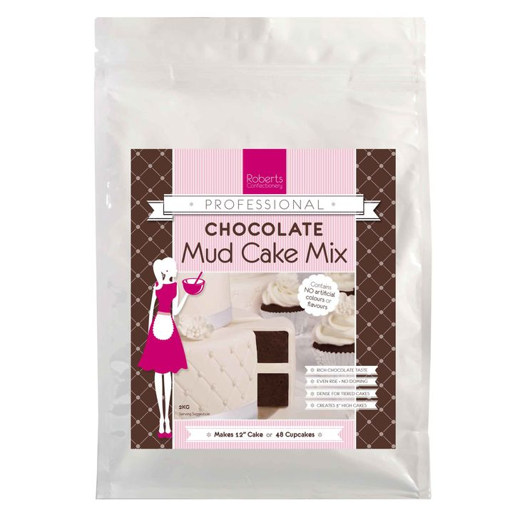 Roberts Confectionery 2kg Chocolate Mud Cake Mix